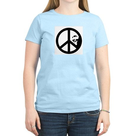 Obama for Peace Womens Light T-Shirt
