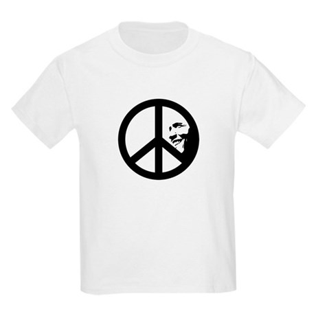 Obama for Peace Kids Light T-Shirt