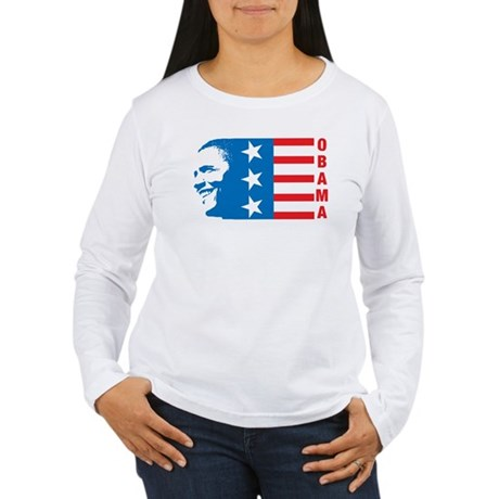American Obama Womens Long Sleeve T-Shirt