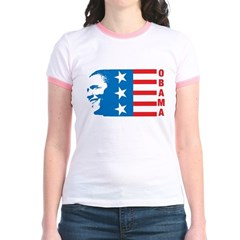 American Obama Jr. Ringer T-Shirt