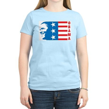 American Obama Womens Light T-Shirt