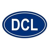 DCL Oval Decal