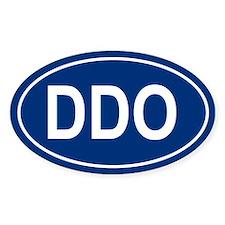 DDO Oval Decal