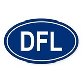 DFL Oval Decal