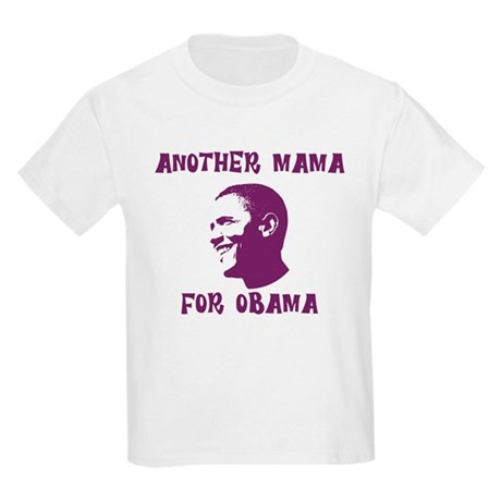 Another Mama for Obama  Kids Light T-Shirt