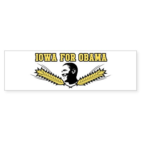 Iowa for Obama Bumper Sticker