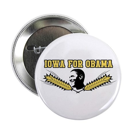 "Iowa for Obama 2.25"" Button"
