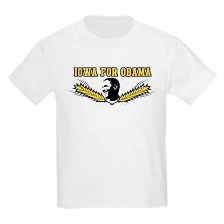 Iowa for Obama Kids Light T-Shirt