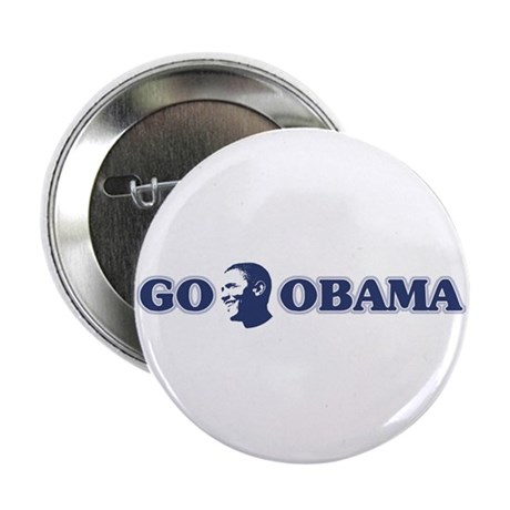 "Go Obama 2.25"" Button"