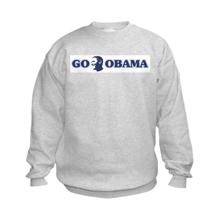 Go Obama Kids Sweatshirt