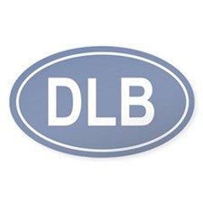 DLB Oval Decal