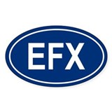 EFX Oval Decal