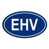 EHV Oval Decal