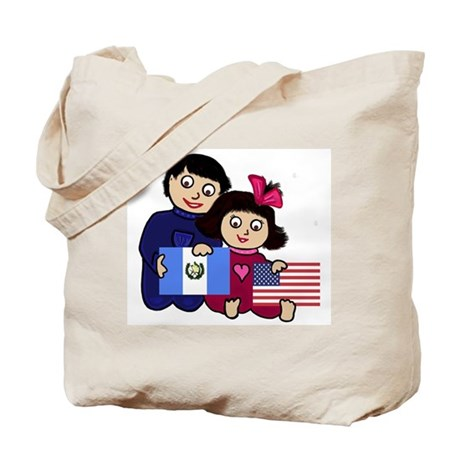 Guat Boy & Girl Tote Bag