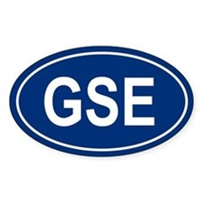 GSE Oval Decal
