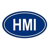 HMI Oval Decal