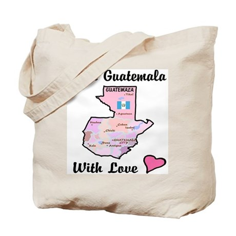From Guat Pink Tote Bag