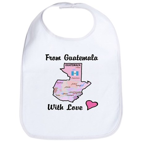 From Guat Pink Bib