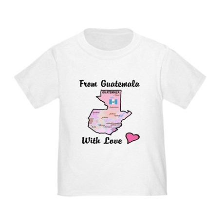 From Guat Pink Toddler T-Shirt