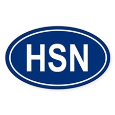 HSN Oval Decal