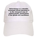 Sinclair lewis quotation Baseball Cap