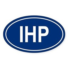IHP Oval Decal