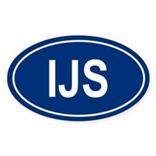 IJS Oval Decal