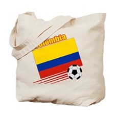 Colombia Soccer Team Tote Bag