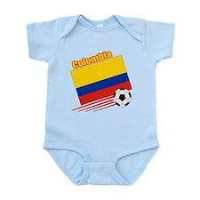 Colombia Soccer Team Infant Bodysuit