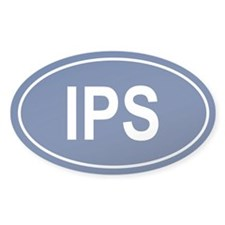 IPS Oval Decal