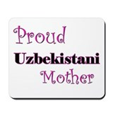 Proud Uzbekistani Mother Mousepad