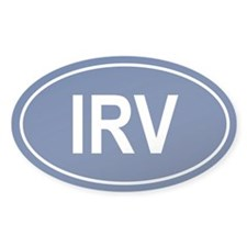 IRV Oval Decal