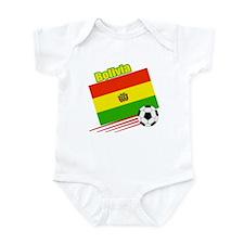 Bolivia Soccer Team Infant Bodysuit
