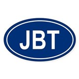 JBT Oval Decal