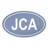 JCA Oval Decal