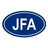JFA Oval Decal