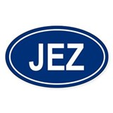 JEZ Oval Decal