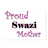 Proud Swazi Mother Postcards (Package of 8)