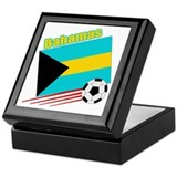 Bahamas Soccer Team Keepsake Box