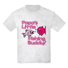 PAPA'S LITTLE FISHING BUDDY! T-Shirt