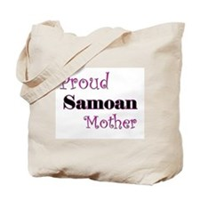 Proud Samoan Mother Tote Bag
