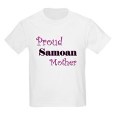 Proud Samoan Mother T-Shirt