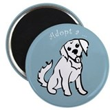 Adopt a Golden Retriever Magnet