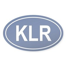 KLR Oval Decal