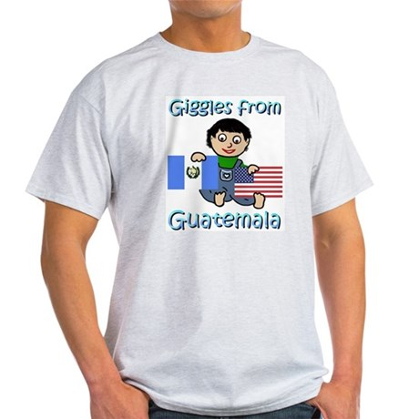 Giggles Guy Ash Grey T-Shirt