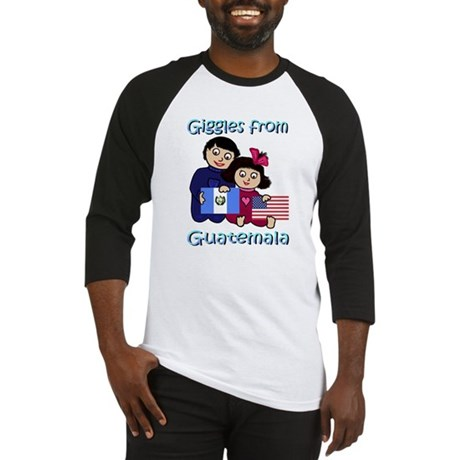 Giggles Girl & Boy Baseball Jersey