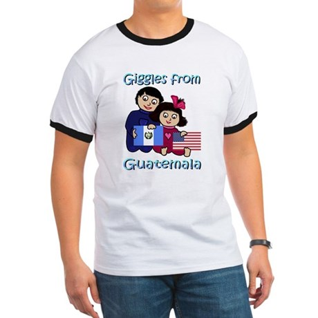 Giggles Girl & Boy Ringer T