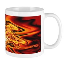 """Blazing Cipher"" Fractal Art Mug"