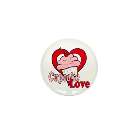 Cupcake Love Mini Button