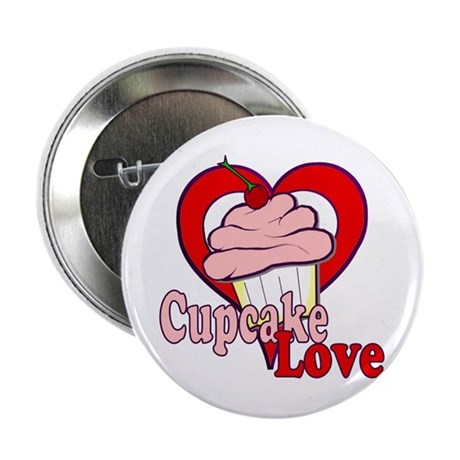 "Cupcake Love 2.25"" Button"